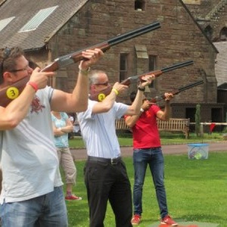 Laser Clays Oakmere, Cheshire