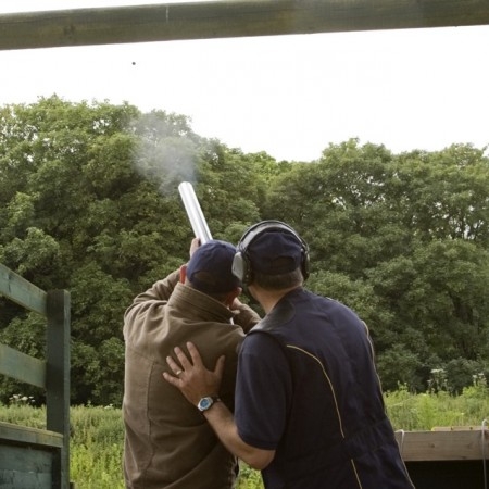 Clay Pigeon Shooting Oakley, Hampshire, Hampshire
